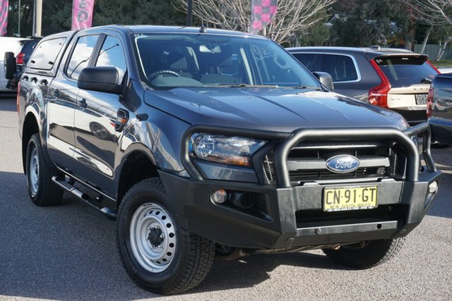 Used Ford Ranger PX MkII XL Hi-Rider Phillip, 2017 Ford Ranger PX MkII XL Hi-Rider Grey 6 Speed Sports Automatic Utility
