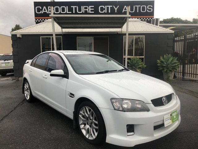Used Holden Commodore VE MY09.5 International Morayfield, 2009 Holden Commodore VE MY09.5 International White 4 Speed Automatic Sedan