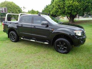 2012 Ford Ranger PX XL Hi-Rider Black 6 Speed Sports Automatic Utility.