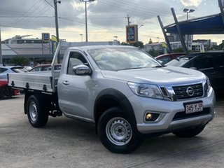 2017 Nissan Navara D23 S2 RX 4x2 Silver 6 Speed Manual Cab Chassis.