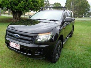 2012 Ford Ranger PX XL Hi-Rider Black 6 Speed Sports Automatic Utility