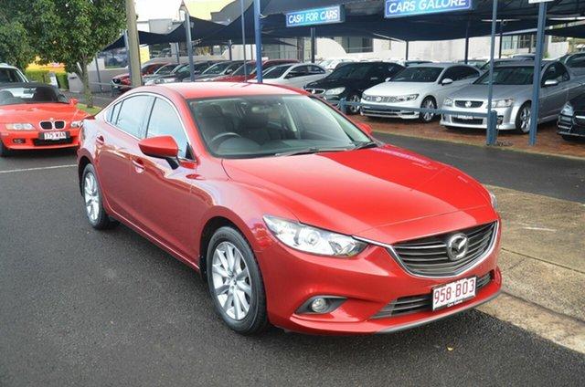 Used Mazda 6 6C Sport Toowoomba, 2012 Mazda 6 6C Sport Red 6 Speed Automatic Sedan
