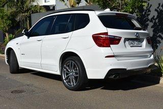 2016 BMW X3 F25 LCI xDrive20d Steptronic White 8 Speed Automatic Wagon