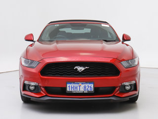 2016 Ford Mustang FM 2.3 GTDi Red 6 Speed Automatic Convertible.