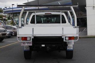 2013 Volkswagen Amarok 2H MY13 TDI400 4Mot White 6 Speed Manual Cab Chassis