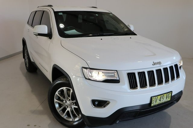 Used Jeep Grand Cherokee WK MY2014 Laredo Wagga Wagga, 2014 Jeep Grand Cherokee WK MY2014 Laredo White 8 Speed Sports Automatic Wagon