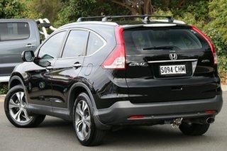 2013 Honda CR-V RM MY14 VTi-L 4WD Crystal Black 5 Speed Sports Automatic Wagon.