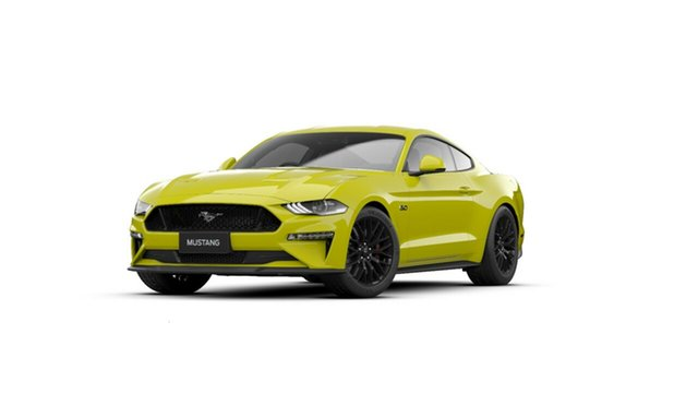 New Ford Mustang FN 2020MY GT Midland, 2020 Ford Mustang FN 2020MY GT Yellow Peel 10 Speed Sports Automatic Fastback