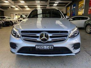 2017 Mercedes-Benz GLC-Class X253 GLC250 Silver Sports Automatic Wagon.