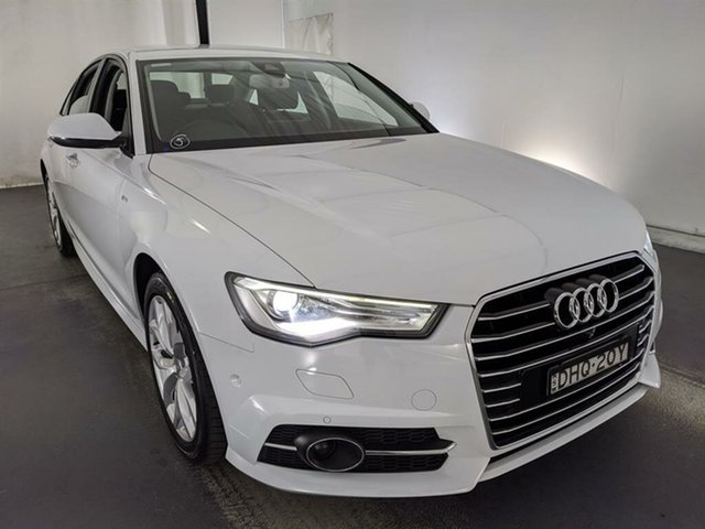 Used Audi A6 4G MY17 S Tronic Maryville, 2016 Audi A6 4G MY17 S Tronic White 7 Speed Sports Automatic Dual Clutch Sedan