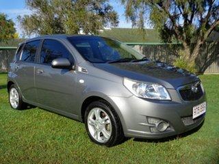 2011 Holden Barina TM Grey 6 Speed Automatic Hatchback.