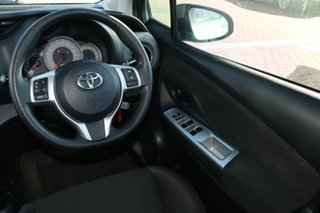 2014 Toyota Yaris NCP130R Ascent Blue 4 Speed Automatic Hatchback