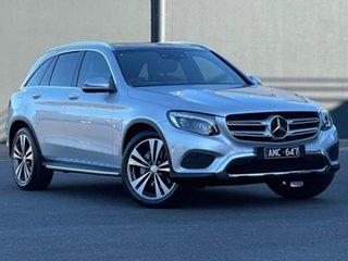 2016 Mercedes-Benz GLC-Class X253 GLC250 9G-Tronic 4MATIC Silver 9 Speed Sports Automatic Wagon.