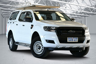2017 Ford Ranger PX MkII XL Hi-Rider Winter White 6 Speed Sports Automatic Utility.