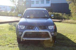 2007 Mitsubishi Triton ML MY07 GLX-R Double Cab Grey 5 Speed Manual Utility.