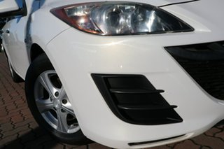 2011 Mazda 3 BL10F1 MY10 Neo Activematic White 5 Speed Sports Automatic Hatchback.