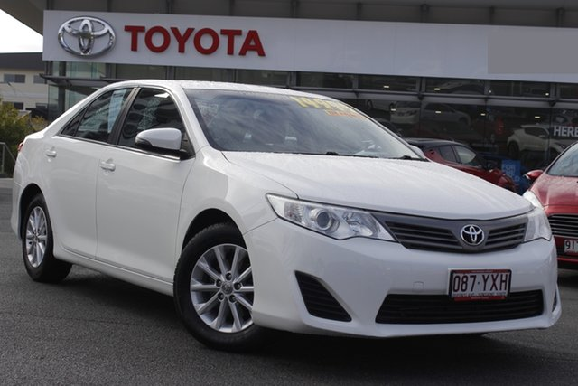 Pre-Owned Toyota Camry ASV50R Altise Upper Mount Gravatt, 2015 Toyota Camry ASV50R Altise White 6 Speed Sports Automatic Sedan