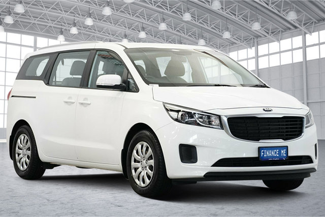 Used Kia Carnival YP MY20 S Victoria Park, 2020 Kia Carnival YP MY20 S Clear White 8 Speed Sports Automatic Wagon