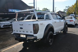 2013 Ford Ranger PX XLT 3.2 (4x4) White 6 Speed Manual Double Cab Pick Up.