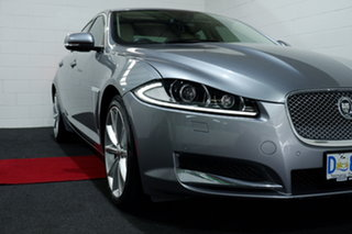 2013 Jaguar XF X250 MY13 Premium Luxury Silver 8 Speed Sports Automatic Sedan.