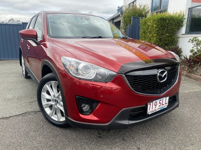 Used Mazda CX-5 KE1021 Grand Touring SKYACTIV-Drive AWD Slacks Creek, 2012 Mazda CX-5 KE1021 Grand Touring SKYACTIV-Drive AWD Red 6 Speed Sports Automatic Wagon