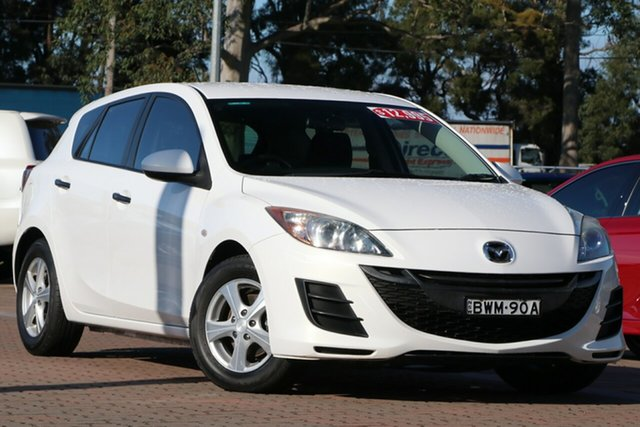 Pre-Owned Mazda 3 BL10F1 MY10 Neo Activematic Warwick Farm, 2011 Mazda 3 BL10F1 MY10 Neo Activematic White 5 Speed Sports Automatic Hatchback
