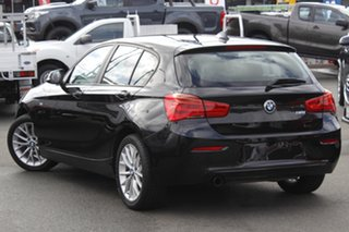 2017 BMW 1 Series F20 LCI 118i Steptronic Sport Line Black 8 Speed Sports Automatic Hatchback.