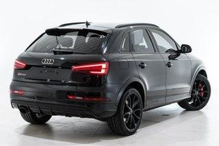 2017 Audi RS Q3 8U MY17 performance S Tronic Quattro Black 7 Speed Sports Automatic Dual Clutch.