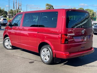 2021 Volkswagen Multivan T6.1 MY21 TDI340 SWB DSG 4MOTION Comfortline Premium Red 7 Speed.
