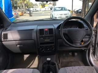 2002 Hyundai Getz TB GL Silver 5 Speed Manual Hatchback