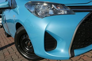 2014 Toyota Yaris NCP130R Ascent Blue 4 Speed Automatic Hatchback.