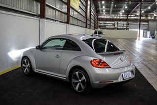 2013 Volkswagen Beetle 1L MY13 Coupe DSG Silver 7 Speed Sports Automatic Dual Clutch Liftback