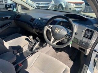 2010 Honda Civic MY10 VTi White 5 Speed Manual Sedan