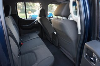 2010 Nissan Navara D40 MY10 ST-X Deep Sapphire 5 Speed Automatic Utility