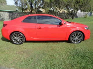 2011 Kia Cerato TD MY11 Koup SI Red 6 Speed Sports Automatic Coupe.