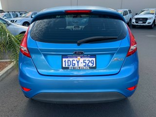2010 Ford Fiesta WS LX Blue 4 Speed Automatic Hatchback.
