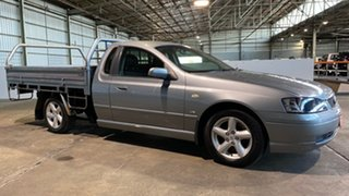 2006 Ford Falcon BF XL Super Cab Grey 4 Speed Sports Automatic Cab Chassis.