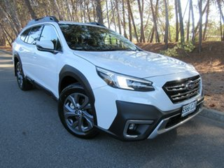 2021 Subaru Outback B7A MY21 AWD CVT Crystal White 8 Speed Constant Variable Wagon.