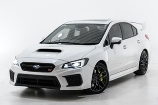 2018 Subaru WRX V1 MY19 STI AWD Premium White 6 Speed Manual Sedan.