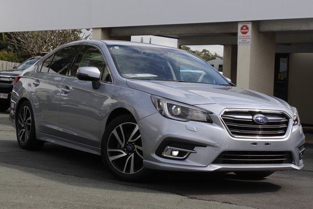 Used Subaru Liberty B6 MY18 2.5i CVT AWD Premium Mount Gravatt, 2018 Subaru Liberty B6 MY18 2.5i CVT AWD Premium Silver 6 Speed Constant Variable Sedan