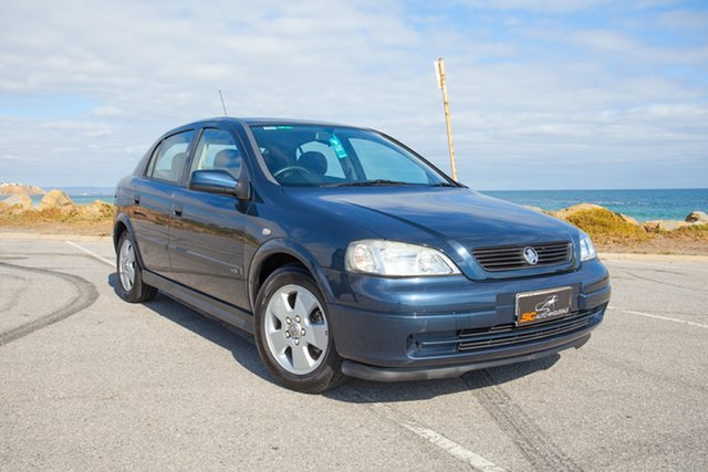 Used Holden Astra TS CD Lonsdale, 2002 Holden Astra TS CD Blue 4 Speed Automatic Hatchback
