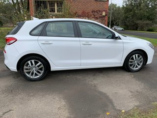 2017 Hyundai i30 PD Active White Sports Automatic Hatchback.