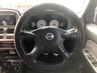 2012 Nissan Navara D22 Series 5 ST-R (4x4) Black 5 Speed Manual Dual Cab Pick-up