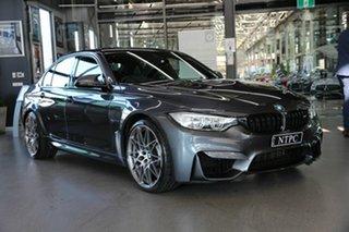 2017 BMW M3 F80 LCI Competition M-DCT Grey 7 Speed Sports Automatic Dual Clutch Sedan