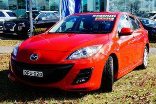 2010 Mazda 3 BL10F1 Maxx Activematic Sport Red 5 Speed Sports Automatic Hatchback