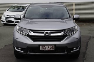 2017 Honda CR-V RM Series II MY17 VTi-S Silver 5 Speed Sports Automatic Wagon.