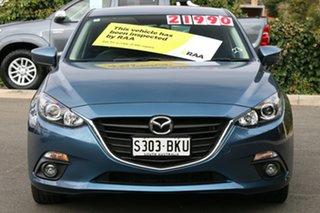 2016 Mazda 3 BN5478 Maxx SKYACTIV-Drive Gunmetal Blue 6 Speed Sports Automatic Hatchback