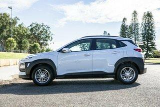 2018 Hyundai Kona OS MY18 Active 2WD White 6 Speed Sports Automatic Wagon