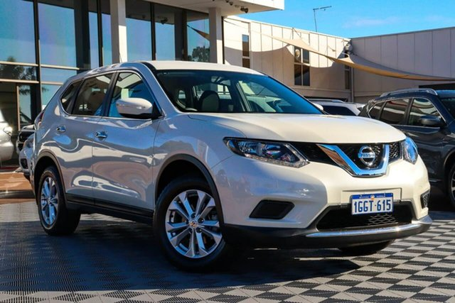 Used Nissan X-Trail T32 Series II ST X-tronic 4WD Attadale, 2017 Nissan X-Trail T32 Series II ST X-tronic 4WD White 7 Speed Constant Variable Wagon