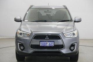 2014 Mitsubishi ASX XB MY15 LS 2WD Grey 6 Speed Constant Variable Wagon.